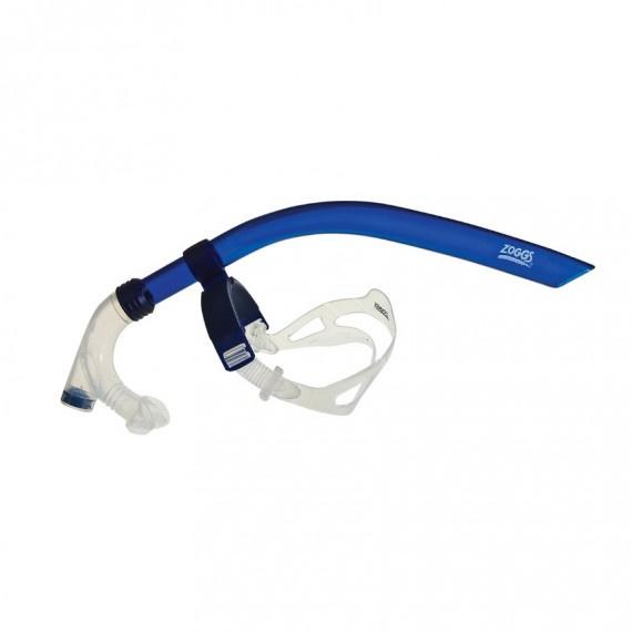 訓練呼吸管 - 藍/透明