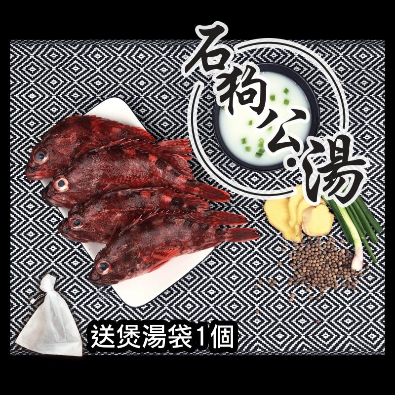 漁家 - 【魚欄直送-煲湯魚】石狗公 [400g]
