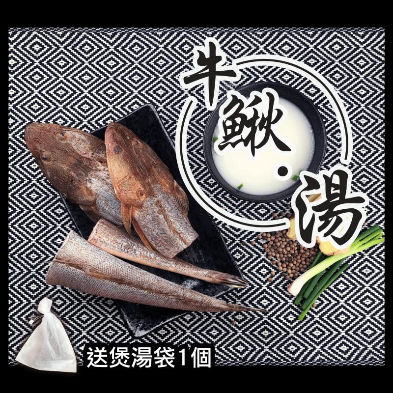 漁家 - 【魚欄直送-煲湯魚】牛鰍 300g 已三清