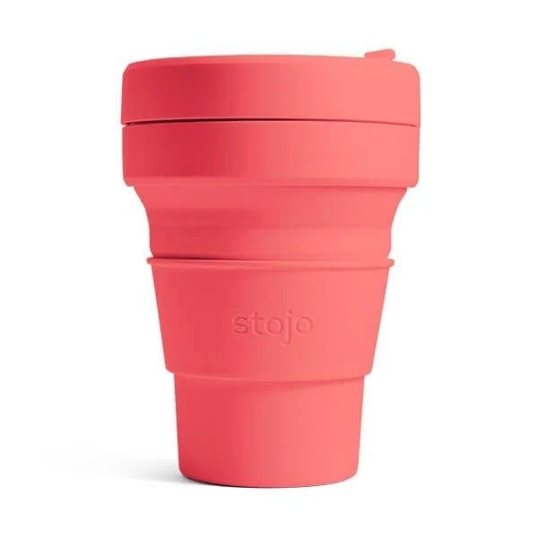 美國STOJO Pocket Cup可壓縮口袋杯(355ml/470ml)
