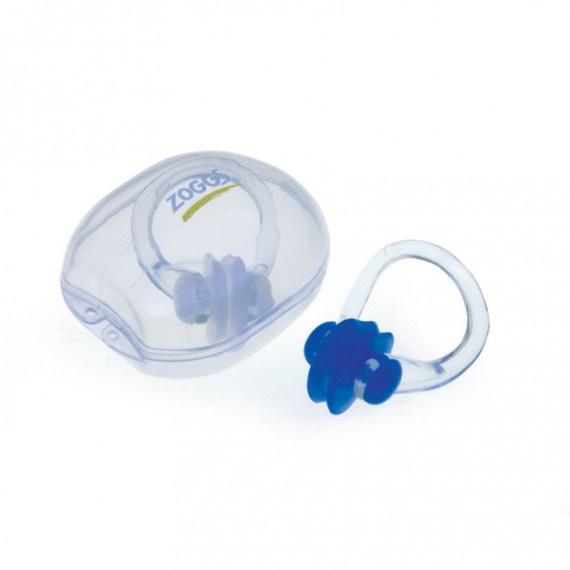 超柔軟游泳鼻夾 - 藍
