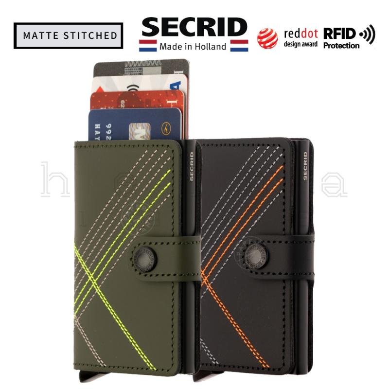 SECRID-Miniwallet-Matte Stitched