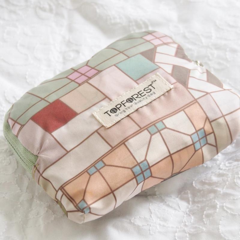 環保摺疊袋 港式懷舊冰室 A10017