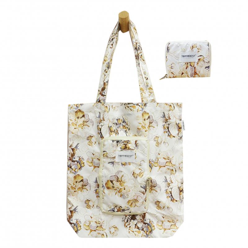 多用途摺疊環保購物袋 高雅日本雪櫻 A14017