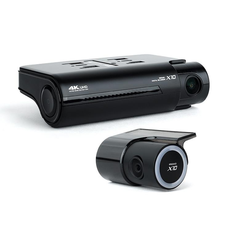 行貨免運 IROAD X10 + 32GB SD 4K UHD 前後鏡超高清行車記錄儀