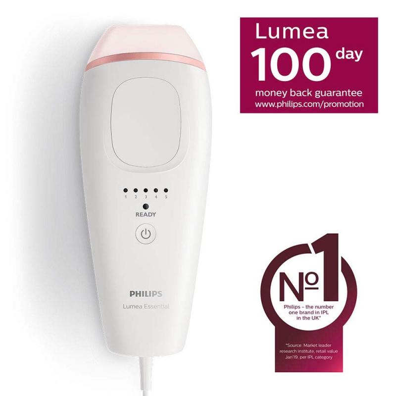 Philips 飛利浦 Lumea Essential IPL 200K 脈衝光脫毛儀 BRI861