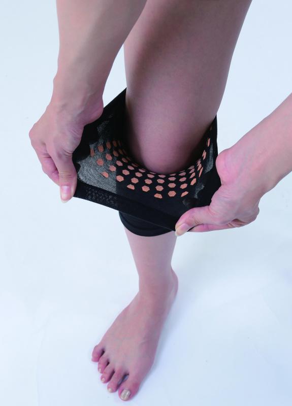 日本製 松栄 鐳礦石遠紅外線 護膝套 (1枚入)
