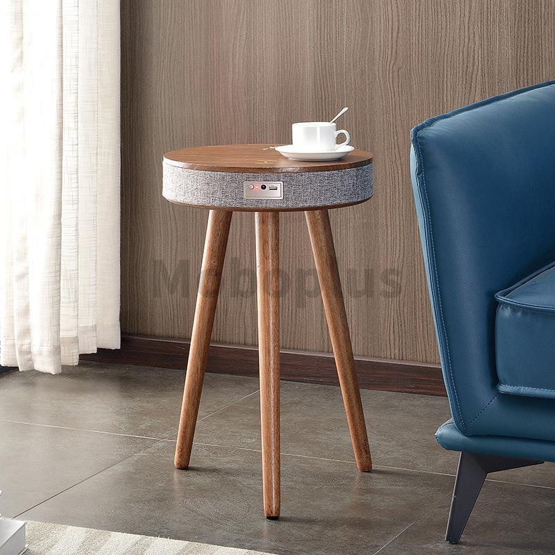 M-Plus 丹麥設計 Topmerit 無線充電藍牙音箱茶几 CW01 [3色]