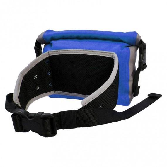 卷頂式防水腰包 3升 - 藍