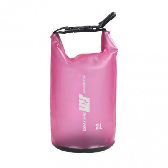 防水袋 2升 - 粉紅