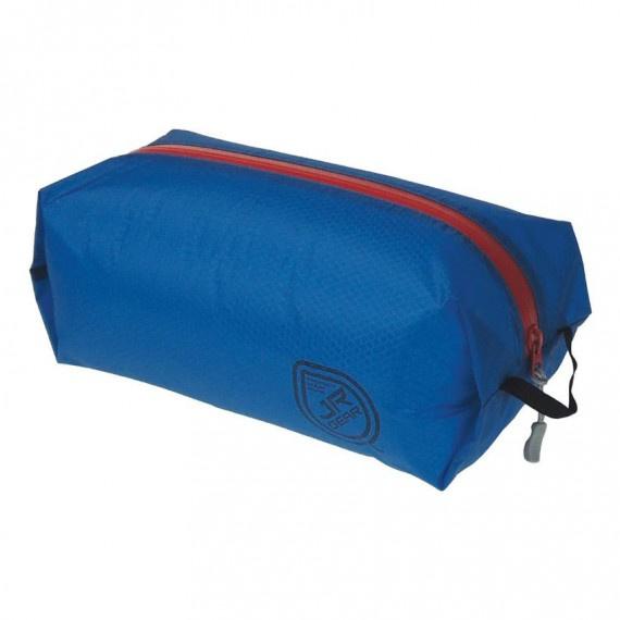 防潑水拉鏈袋 1升 - 藍