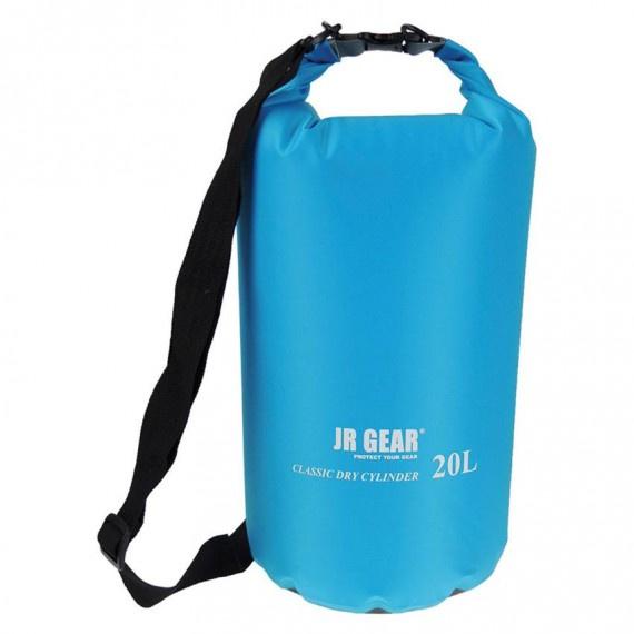 經典圓筒形防水袋 20升 - 藍