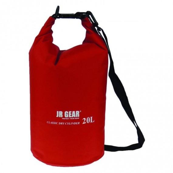 經典圓筒形防水袋 20升 - 紅