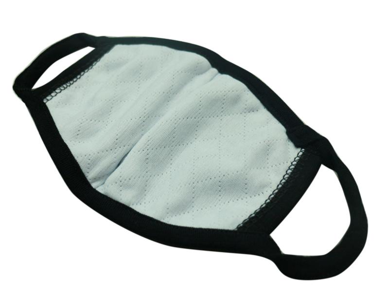 成人黑色3D立體貼面透氣厚身棉布口罩 2 個日常替換裝 *店主推介* M06020 - 適合秋冬或冷氣室內使用