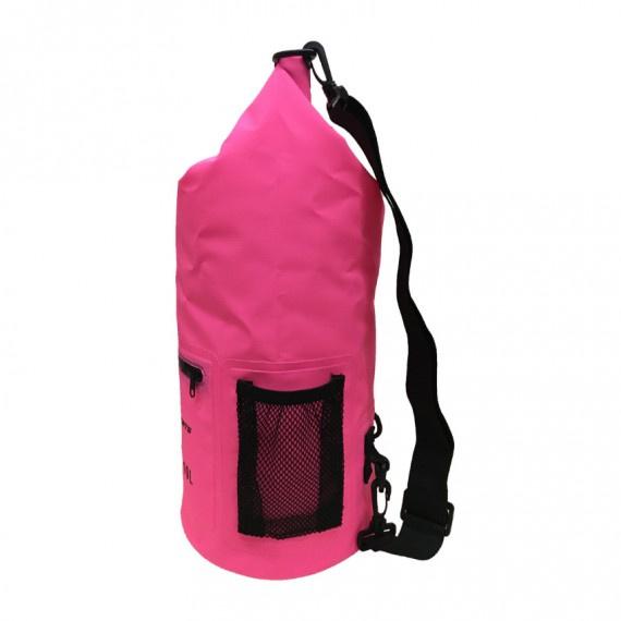 PVC 防水袋 20升 - 粉紅