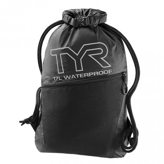 防水背包 17升 - 黑