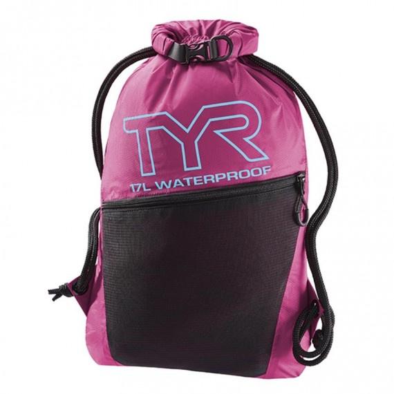 防水背包 17升 - 粉紅