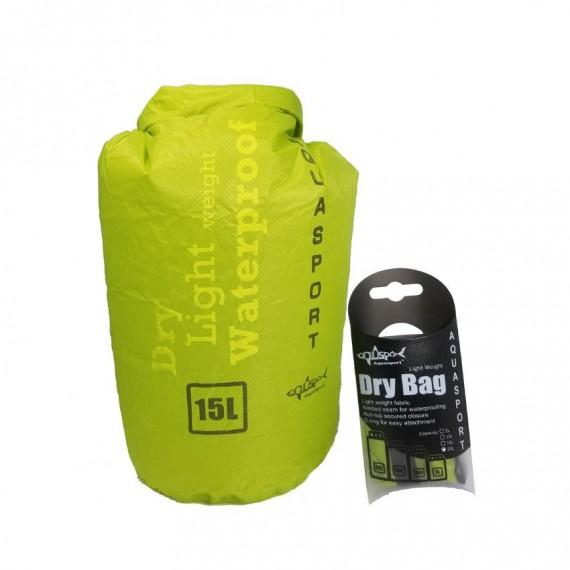 防水袋 15升 - 青檸