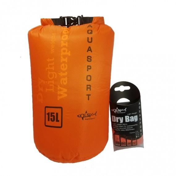 防水袋 15升 - 橙