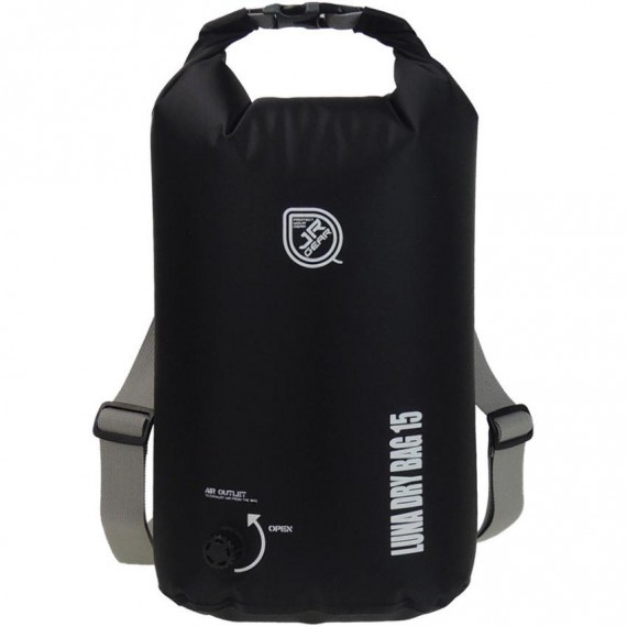 Luna 防水袋 15升 - 黑