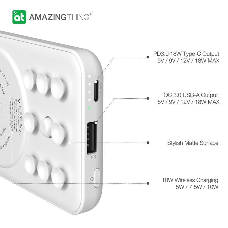 Amazingthing E-Pad Pro PD無線移動電源 10000mAh