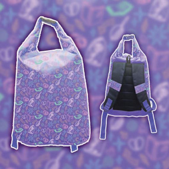迪士尼公主防水背包 12升 - 薰衣草