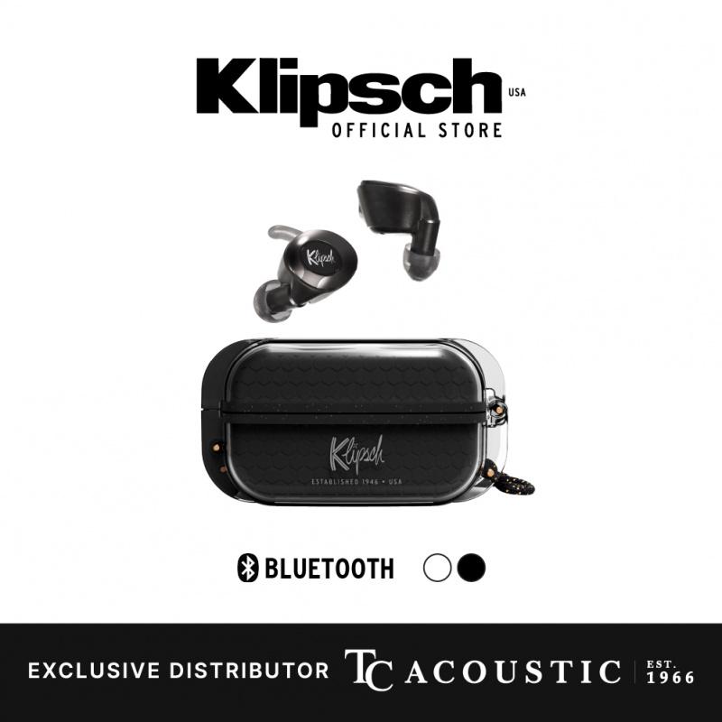 Klipsch T5 II True Wireless Sport 運動型真無線耳機[黑色]