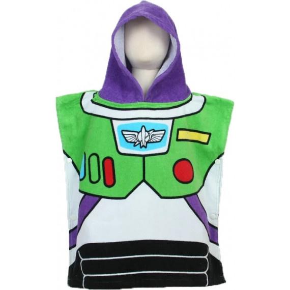 Buzz Lightyear 兒童浴巾 - 綠/紫/白