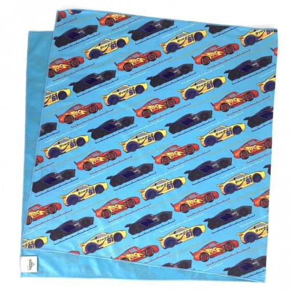 反斗車王 冰涼毛巾(100cm x 50cm) - 藍