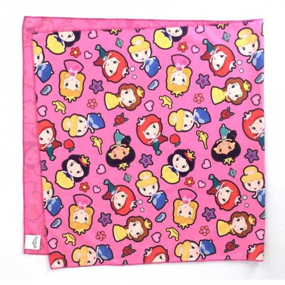迪士尼公主系列 冰涼毛巾 (100cm x 50cm) - 粉紅