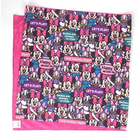 米妮與黛西 冰涼毛巾 (100cm x 50cm) - 粉紅
