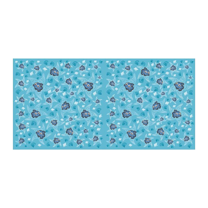 微纖維吸水毛巾 (80cm × 160cm) - 藍
