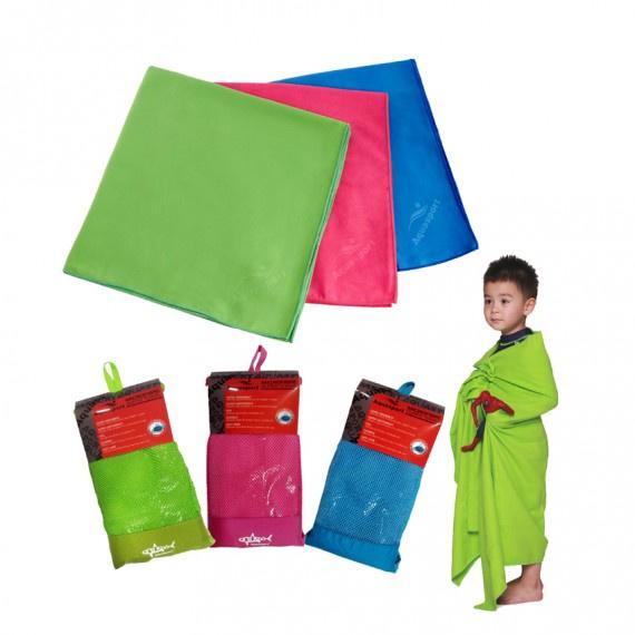 超細纖細吸水毛巾 (80×160cm) - 藍