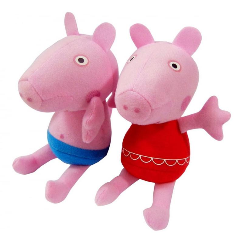 Peppa & George 布玩偶 - 粉紅