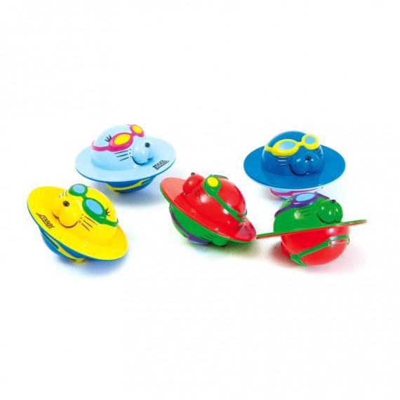 海豹飛碟玩具組