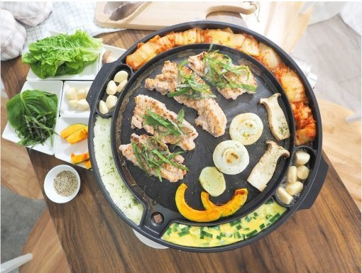 韓國製造 QUEEN SENSE 韓式萬能烤肉烤盤 - (韓燒必備)