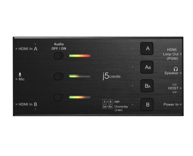 J5Create JVA06 雙 HDMI 影像擷取器