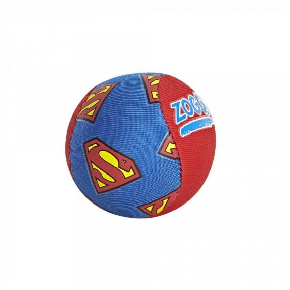 超人軟膠球 - 藍/紅