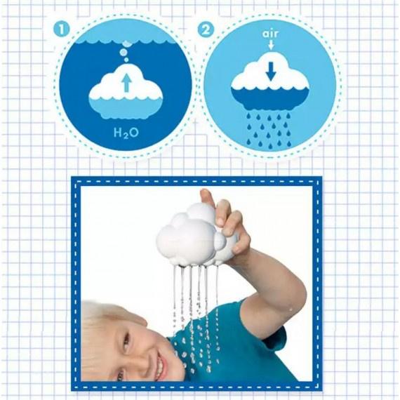 下雨雲玩具 - 白