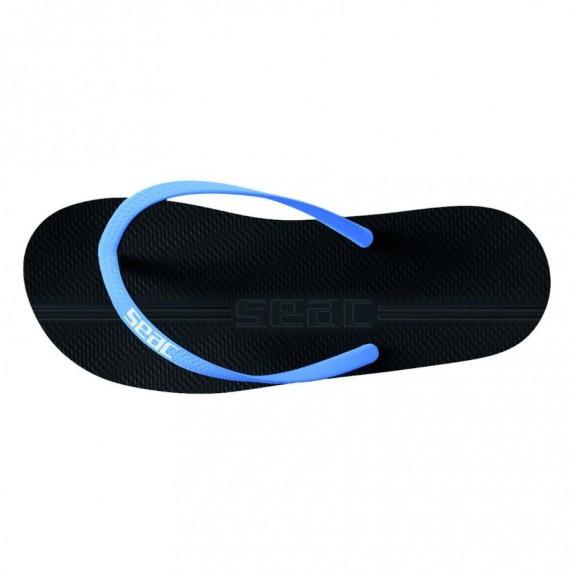 成人 Maui 沙灘拖鞋 - 黑/藍