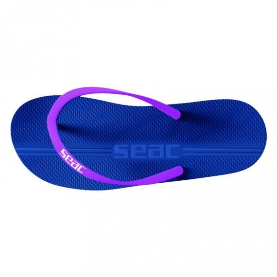 成人 Maui 沙灘拖鞋 - 藍/紫