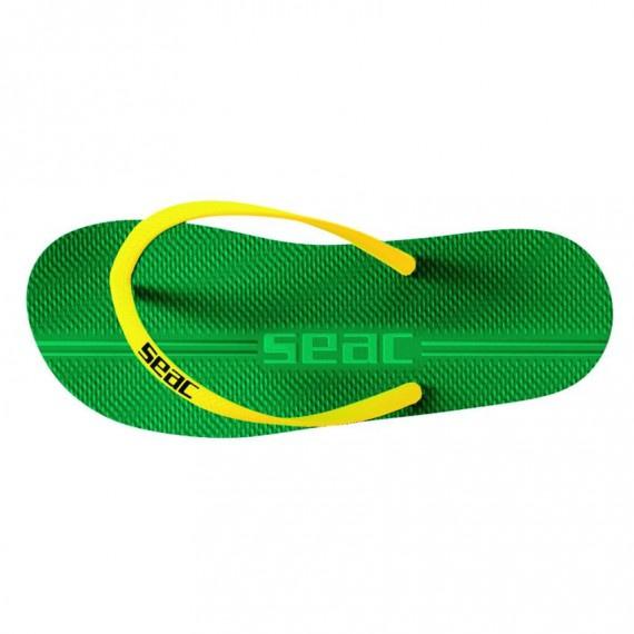 成人 Maui 沙灘拖鞋 - 綠/黃