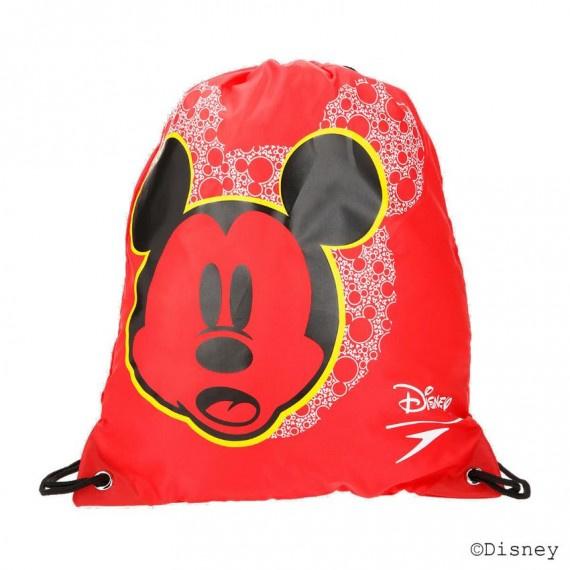 米奇老鼠索繩袋 - 紅/黑