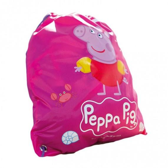 Peppa 防潑水索繩袋 - 粉紅