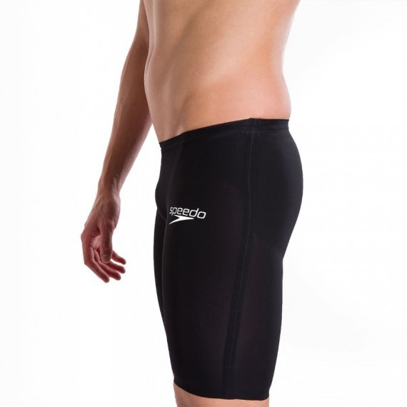鯊魚皮 LZR飛躍系列 男子高腰五分泳褲 - 黑