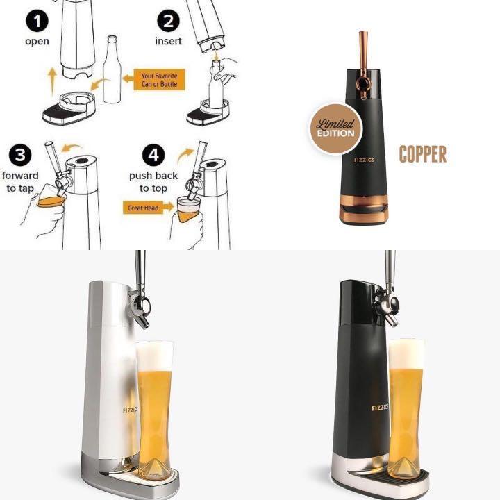 Fizzics Draft Pour 家庭式啤酒機