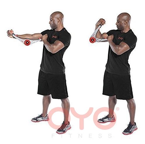 美國 OYO Doubleflex GYM便攜式全方位健身器(連多功能配件)