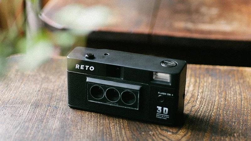 RETO 3D 三鏡頭立體視覺菲林相機