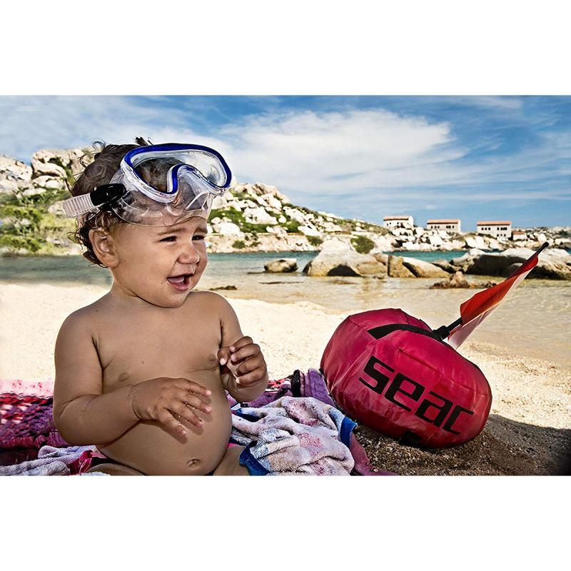 Marina 兒童浮潛面鏡 - 藍