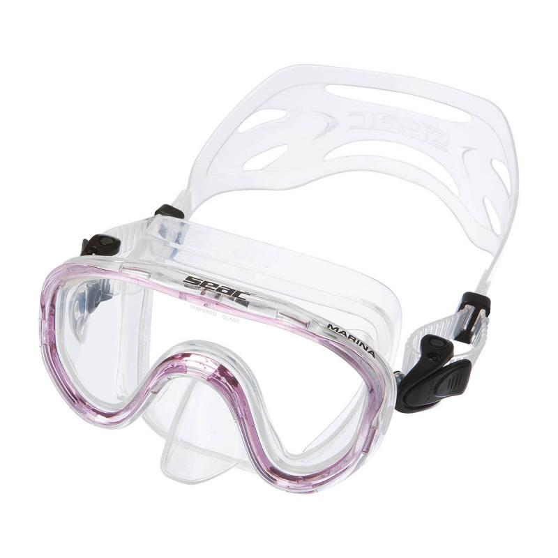 Marina 兒童浮潛面鏡 - 粉紅